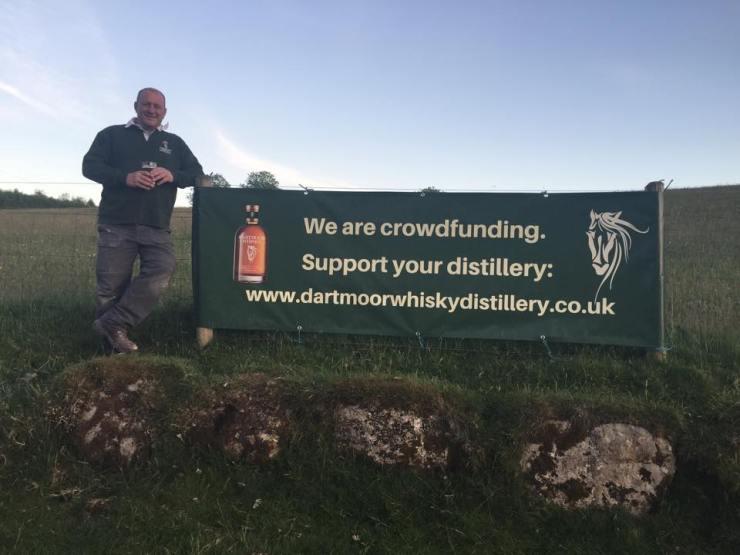 Dartmoor Whisky Crowdfunding Banner