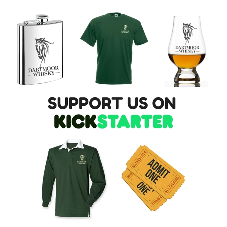 Dartmoor Whisky Kickstarter Rewards